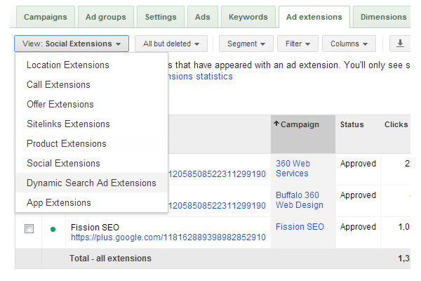 Google Ad Extensions